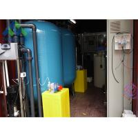Buy cheap Containerized Mobile Portable Water Desalination Unit Construction Site Usage from wholesalers