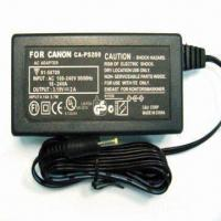 Buy cheap AC/DC Adapter for Digital Camera/Camcorder, Used for Canon Powershot S100/A540, with 3.15V/2A Output from wholesalers