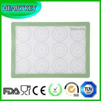 Buy cheap Food Grade Kitchen Silicone Baking Mat With Measuring Scale Hot Macarons silicone baking mat from wholesalers