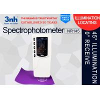 Buy cheap 3nh 45°/ 0°Color Matching Spectrophotometer , NR145 Colour Difference Meter Packaging Printing from wholesalers
