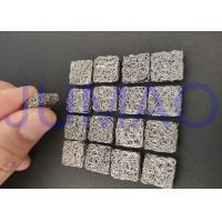 Buy cheap Corrosion Resistant Knitted Mesh Filters Cylindrical With Sound Attenuation product