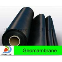 Buy cheap HDPE geomembrane both sides smooth from wholesalers