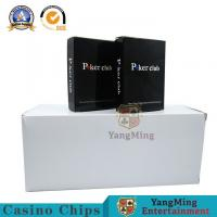 Buy cheap International Plastic Casino Vip Club Cards Print Pvc Poker Playing Cards from wholesalers