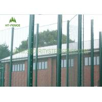 Buy cheap Anti - Corrosion 358 Security Fence Prison Mesh With Taper Post 85 * 45 * 85mm from wholesalers