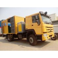 Buy cheap Sinotruck 4 x 2 266HP Mobile Workshop Truck With Repair Tools Yellow from wholesalers