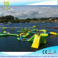 Buy cheap Hansel large inflatable floating water park pool toy from wholesalers