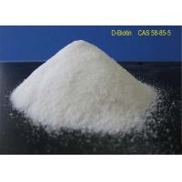 Buy cheap White Powder Local Anaesthesia Drugs D - Biotin CAS 58-85-5 For Reducing Blood Sugar from wholesalers