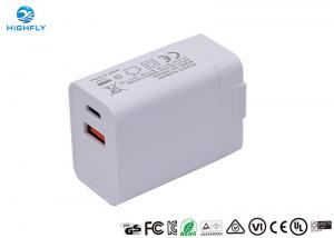 Buy cheap PD QC3.0 Charging Quick Dual USB 18W Universal Travel Charger product