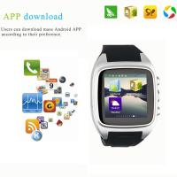 Buy cheap 2015 Watch phone Smart sim card smart watch phone 1.54 inch TF Card Camera Android from wholesalers