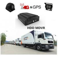 Buy cheap 4G H.264 Real-time HDD 4Ch 720P AHD Mobile DVR For Truck / Bus / Taxi product