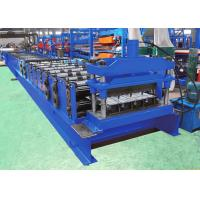 Buy cheap Dovetail Decking Floor Roll Forming Equipment For 760mm Cover Width Profile from wholesalers