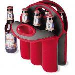 Six pack beer bottle cooler