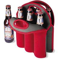 Six pack beer bottle cooler