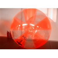 Buy cheap Summer Toy Inflatable Human Hamster Ball Rental With CE Blower Logo Printing from wholesalers