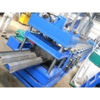 Buy cheap Highway Fence Cold Bending Roll Forming Machine 5 Rollers Leveling Hole Punching System Use Panasonic PLC Control product