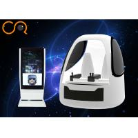 Buy cheap Two Seats 9D Virtual Reality Flying Machine Space Capsule Design With Exciting Games from wholesalers
