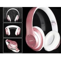 Buy cheap NEw design Noise Cancelling Wireless Bluetooth Headphones with Mic and fm in stock from wholesalers