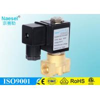 Buy cheap ASCO Red Hat Direct Acting Solenoid Valve Replaceable Brass Water Solenoid Valve from wholesalers