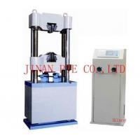 Buy cheap WES-200C Digital Display Hydraulic universal testing machine from wholesalers