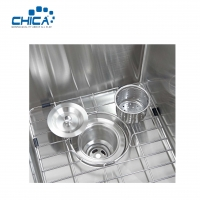 Buy cheap Single Bowl Stainless Steel Kitchen Sink Handmade kitchen Sinks Wish Faucet from wholesalers