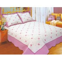 100 Percents Polyester Embroidery Quilt Kits 220x240 / 240x260cm Large Sizes