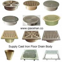 Buy cheap Bronze, Nickel Bronze Square and Round Cast Iron Floor Drain Strainer from wholesalers