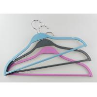 Buy cheap Contemporary Ladies Clothes Hangers Plastic Sweater Hangers Customized Logo from wholesalers