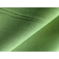 Buy cheap Green Yellow Dyed Fabric Cloth Linen Cotton Blend for Short Trousers / Skirts / Pillows product
