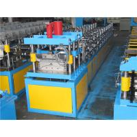 Buy cheap No Press Step Type Ridge Cap Roll Forming Machine Guide Pillar Structure With Auto Stacker from wholesalers