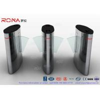 Buy cheap Flap Barrier Gate Automatic Barrier Wing Half Height Turnstiles Stainless Steel from wholesalers