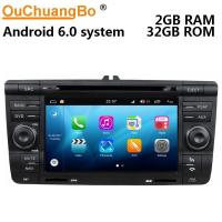 Buy cheap Ouchuangbo auto gps navi audio S200 platform android 8.0 for Skoda Octavia support USB SWC AUX wifi bluetooth from wholesalers