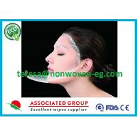 Buy cheap Clean Whitening Needle Punched Non Woven Fabric Face Mask Sheet Soft Breathable from wholesalers