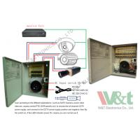 Buy cheap 24V 4A 96W Linear Regulated Power Supply For CCTV Camera With 8 Channel from wholesalers