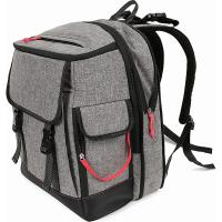 Buy cheap New Arrival Amazing design gray baby Backpack Diaper Bag Thermal bottle pocket from wholesalers