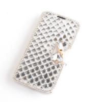 Buy cheap Diamond Leather Wallet Samsung Galaxy S4 Phone Covers With Stand / Multi Card Slot from wholesalers