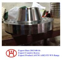 Buy cheap UNS S32750 2507 1.4410 ASTM A182 F53 WN flange from wholesalers