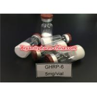 Buy cheap 98% Purity Pharmaceutical Raw Materials Ghrp-6 Growth Hormone Polypeptide Lyophilized Raw Powder from wholesalers