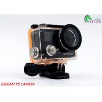 2 Inch Dual Screen 4k Waterproof Action Video Camera K8 360VR 170 Degree