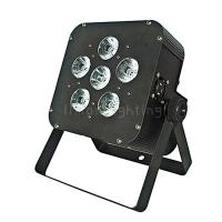 Buy cheap Cheap 6x10W RGBW 4in1 DMX Wireless Rechargable Lithium Battery Mini LED Flat Par Light from wholesalers