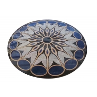Buy cheap Interior Hall Honed Dia 3m Round Marble Floor Medallions from wholesalers