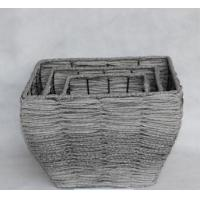 Buy cheap Willow basket for potted plants from wholesalers