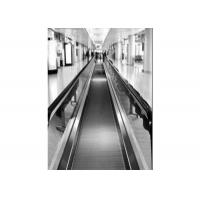 Buy cheap Moving Walk Escalator With high precision guide rail system , airport walkways from wholesalers