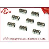 Buy cheap Steel IMC 3/4 Compression Coupling Rigid Conduit Adaptor Electro Galvanized from wholesalers