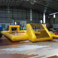 Buy cheap Single Layer Inflatable Outdoor Football Field  for Entertainment from Wholesalers