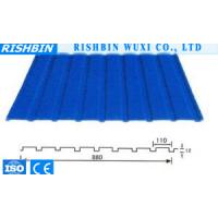 Buy cheap Interior & Exterior Corrugated Metal Wall Panels Thermal And Sound Insulation 880mm from wholesalers