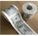 Buy cheap Custom Printed Dollar& Emoji toilet tissue paper from wholesalers