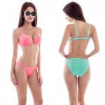 Buy cheap High quality plain colour Sexy bikini, bikini for young girl from wholesalers