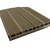 Buy cheap Walnut Color WPC Composite Decking / Recyclable Walkways Deck For Garden from wholesalers