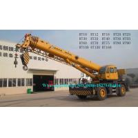 Buy cheap XCMG 60 Ton Rough Terrain Boom Truck Crane For Warehousing Base Construction RT60 RT60A from wholesalers