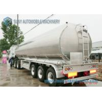 Buy cheap 3 Axles 45000  liters Steel Aluminum  Oil Diesel Fuel Tanker Tank Semi Trailer with Best Price from wholesalers